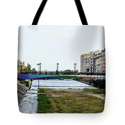 Urban Vividness Tote Bag