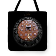 Urban Voice Button Tote Bag