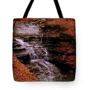 Urban Waterfall Tote Bag