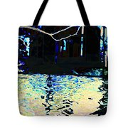 Urban Waterfall Tote Bag