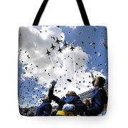 U.s. Air Force Academy Graduates Throw Tote Bag by Stocktrek Images