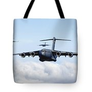 U.s. Air Force C-17 Globemasters Tote Bag