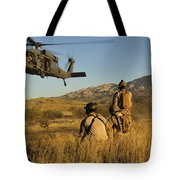 U.s. Air Force Pararescuemen Signal Tote Bag
