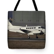 U.s. Army C-12 Huron Liaison Aircraft Tote Bag by Timm Ziegenthaler