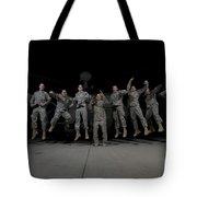U.s. Army Pilots & Crew Chiefs Jump Tote Bag