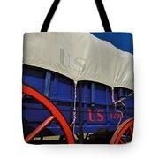 U S Army Supply Wagon Tote Bag