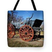 Us Buckboard Wagon Tote Bag