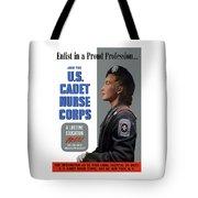 Us Cadet Nurse Corps - Ww2 Tote Bag