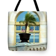 Us Capital Building Window Tote Bag