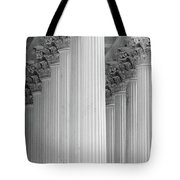 United States Capital Columns Tote Bag