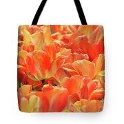 United States Capital Tulips Tote Bag