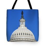 Us Capitol Building Dome Tote Bag