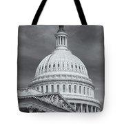 Us Capitol Building Iv Tote Bag