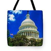 Us Capitol Dome Tote Bag