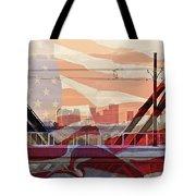 Us City Tote Bag