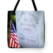 Us Colored Troops Tote Bag