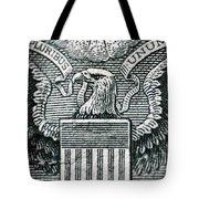 Us Dollar Eagle Tote Bag