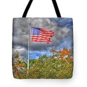 Us Flag 8091 Tote Bag