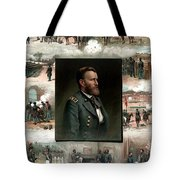 Us Grant's Career In Pictures Tote Bag