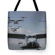 U.s. Marine Corps Mv-22 Osprey Tote Bag