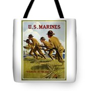 Us Marines - Soldiers Of The Sea Tote Bag