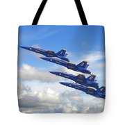 Us Navy - Blue Angels Tote Bag