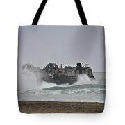 Us Navy Hovercraft Tote Bag