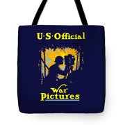 U.s. Official War Pictures Tote Bag