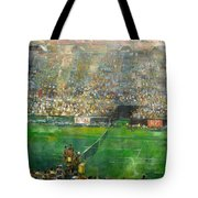 Us Open Tennis Center, New York 72 X48 In.  Tote Bag
