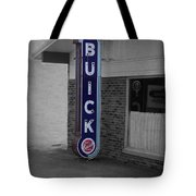 Us Route 66 Smaterjax Dwight Il Buick Signage Sc Tote Bag