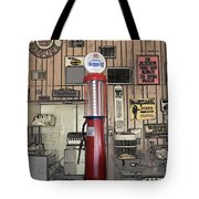 Us Route 66 Smaterjax Dwight Il Gas Pump 01 Pa 02 Tote Bag