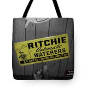 Us Route 66 Smaterjax Dwight Il Rare Waterers Signage Tote Bag
