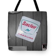 Us Route 66 Smaterjax Dwight Il Sinclair Gasoline Signage Tote Bag