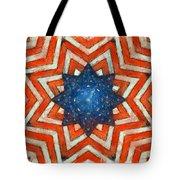 Usa Abstract Tote Bag