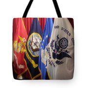 Usa Armed Forces Swearing In Tote Bag