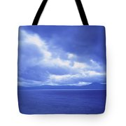 Usa, California, Lake Tahoe, Storm Tote Bag