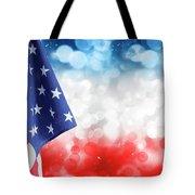 Usa Circles Tote Bag