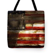 Usa Handgun Tote Bag