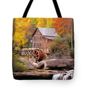 Usa, West Virginia, Glade Creek Grist Tote Bag
