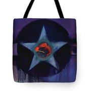 Usaaf Lilac Tote Bag