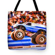 Usaf Afterburner Monster Jam Tote Bag