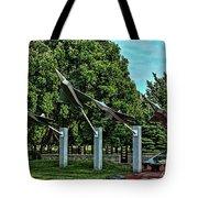 Usaf Museum Memorial Garden Tote Bag