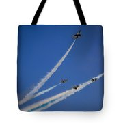 Usaf Thunderbirds Media Day 2 Tote Bag