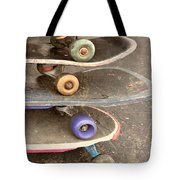 Used Skateboards Tote Bag
