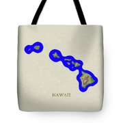 Usgs Map Of Hawaii Tote Bag