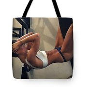 Using Crazy Loss Products Tote Bag