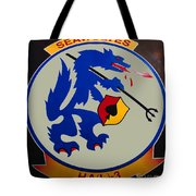 Usn Seawolves Logo Tote Bag