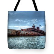 Usns American Mariner - Target Ship, Chesapeake Bay, Maryland Tote Bag