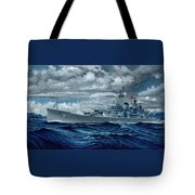 Uss Canberra Cag-2  Tote Bag
