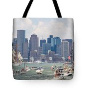 Uss Constitution Boston Cruise Tote Bag by Susan Cole Kelly